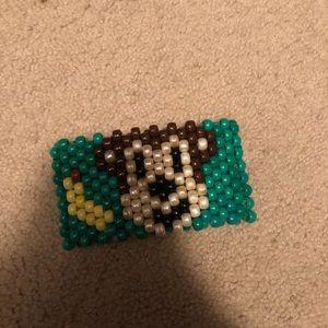Other - Cute Monkey Handmade Kandi Arm Cuff